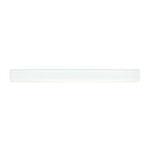 Snow Frost Glass Brule Glass Mosaic Tile - 0.625 x 6 in.