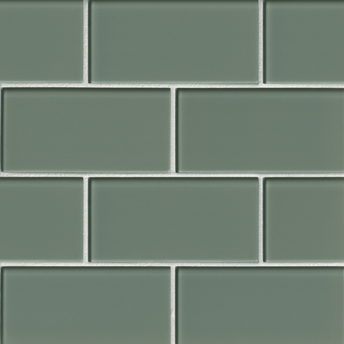 Winter Glass Subway Tile - 3 x 6 in.