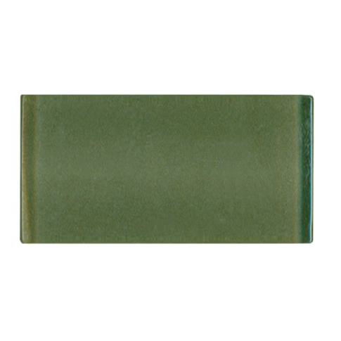 Antique Moss Glass Subway Tile - 3 x 6 in.