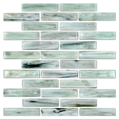 Inglewood Glass Mosaic Tile - 1 x 4 in.