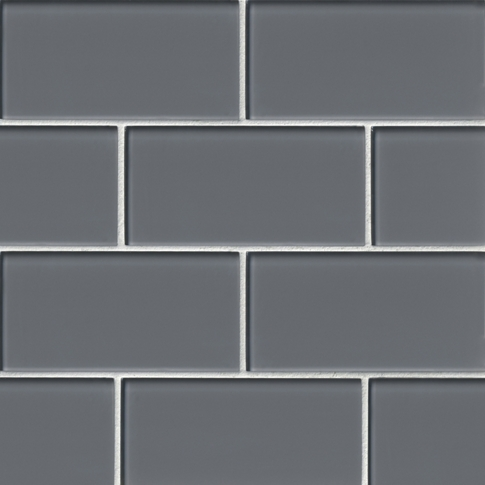 Sterling Glass Subway Tile - 3 x 6 in.