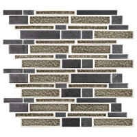 Bayside Blend Porcelain Mosaic Wall Tile