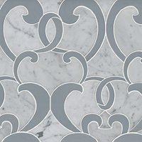 Monroe Victoria Marble Mosaic Wall and Floor Tile