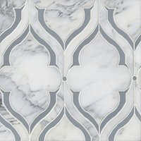 Fontaine Victoria Marble Mosaic Wall and Floor Tile