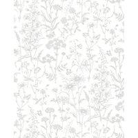 Laura Ashley Lisette White Splashback Wall Tile - 24 x 30 in