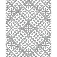Laura Ashley Mr Jones Charcoal Splashback Wall Tile - 24 x 30 in