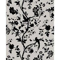 Laura Ashley Oriental Garden Charcoal Splashback Wall Tile - 24 x 30