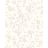 Laura Ashley Oriental Garden Pale Biscuit Splashback Wall Tile - 24 x 30 in