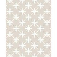 Laura Ashley Wicker Dove Grey Splashback Wall Tile - 24 x 30