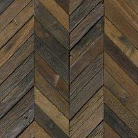 Reclaimed Wood Chevron Mosaic Wall Tile