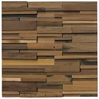 Reclaimed Wood Cedar Timber Architectural Mosaic Wall Tile