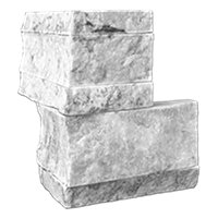 Birmingham Architectural Out Corner Marble Wall Tile