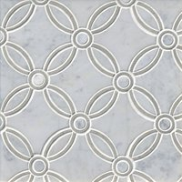 Marseille White Marble Wall and Floor Tile
