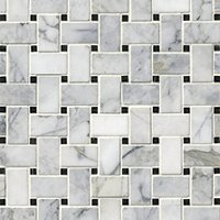 Ashford Carrara Polished Niles Marble Wall and Floor Tile