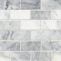 Ashford Carrara Polished Amalfi Marble Wall Tile