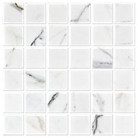 Italian Calacatta Gold Polished Marble Mosaic Wall and Floor Tile