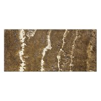 Terra Mocha Polished Travertine Wall Tile - 3 x 6 in