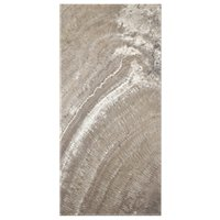 Terra Mocha Polished Travertine Floor Tile 12 x 24 in