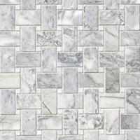 Ashford Carrara Pol Niles with White Dot Marble Wall and Floor Tile
