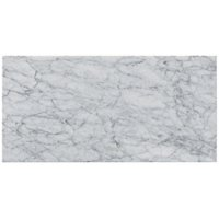 Firenze Carrara Honed Marble Wall and Floor Tile 12 x 24 in