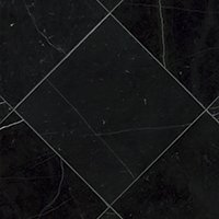 Black Marquina Polished Marble Wall and Floor Tile - 12 x 12 in