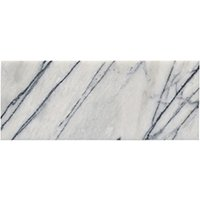 Milas Lilac Polished Marble Wall and Floor Tile - 8 x 20 in