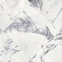 Milas Lilac Polished Marble Wall and Floor Tile - 12 x 12 in