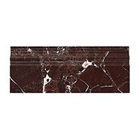 Rosso Marquina Polished Marble Skirting Wall and Floor Tile