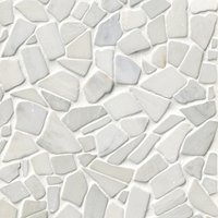 Hampton Carrara Cobble 12 x 12 in