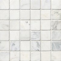 Hampton Carrara Tumbled 2 x 2 in