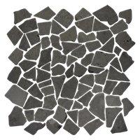 Black Cobble 12 x 12 in