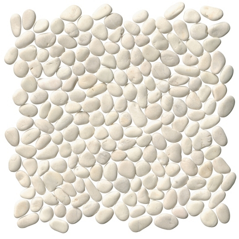 White Pebbles (Small) 12 x 12 in