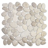 Tan Grey Pebbles (Medium) 12 x 12 in