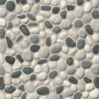 Tan Grey Pebbles (Small) 12 x 12 in