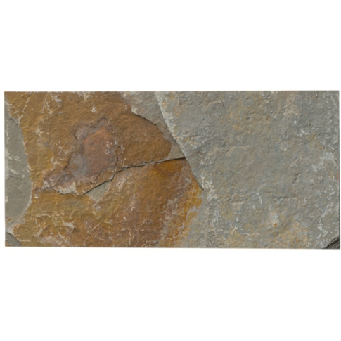 Copper Rust Slate Subway Tile - 3 x 6 in.
