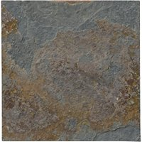 Copper Rust Slate Mosaic Wall and Floor Tile - 4 in