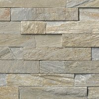 Baoding Crème Random Rectified Quartzite Architectural Tile - 6.3 x 23.5 in.