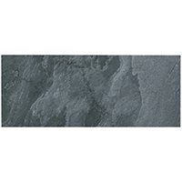 Silver Grey Polished Quartzite Wall Tile - 8 x 19.75 in.