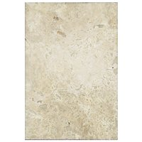 Chiaro Honed Filled Travertine Wall and Floor Tile - 12 x 18 in