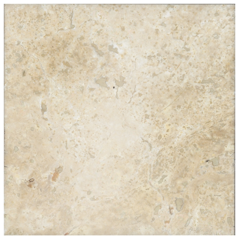 Chiaro Honed Filled Travertine Wall and Floor Tile - 18 x 18 in