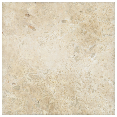 Chiaro Honed Filled Travertine Floor Tile - 12 x 12 in.