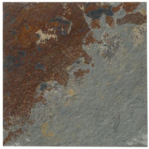 Copper Rust Slate Mosaic Tile - 6 in.