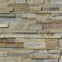 Flagstaff Quartzite Architectural Tile - 6 x 21.5 in.