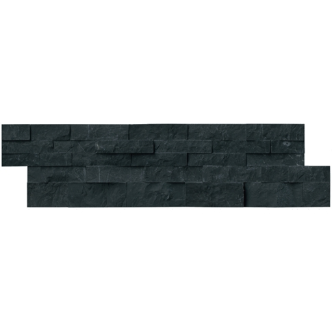 Noir Navajo Travertine Architectural Tile - 6 x 21.5 in.