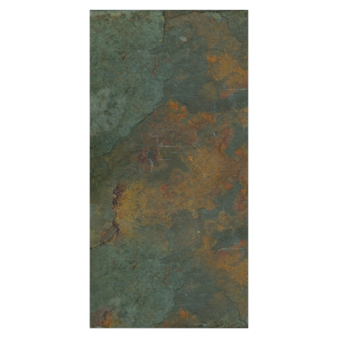 Copper Rust Slate Wall and Floor Tile - 8 x 16 in