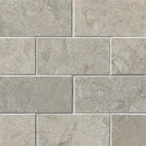 Bandung Gris Acid Marble Wall and Floor Tile - 3 x 6 in