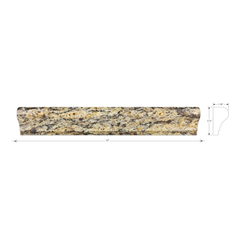 New Venezia Gold Martel Granite Wall Tile - 12 in.