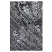 Silver Grey Polished Quartzite Floor Tile - 12 x 18 in.