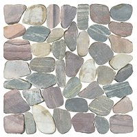 Piedra Rio Rocks Wall and Floor Tile - 12 x 12 in