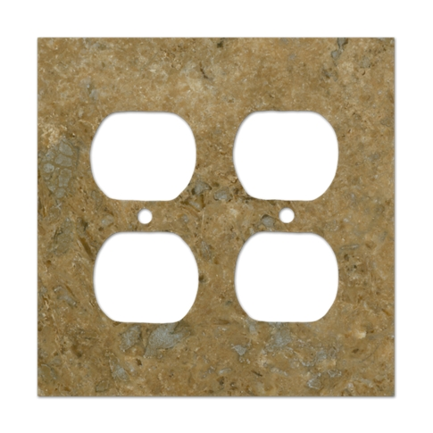 stone switch plate
